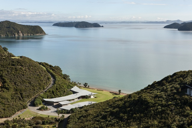 Housing category winner: Fold House, Bay of Islands by Bossley Architects.