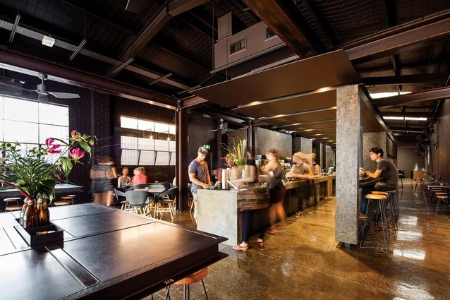 2013 Hospitality Award: Code Black Coffeen by Zwei Interiors.