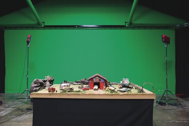 A model set.