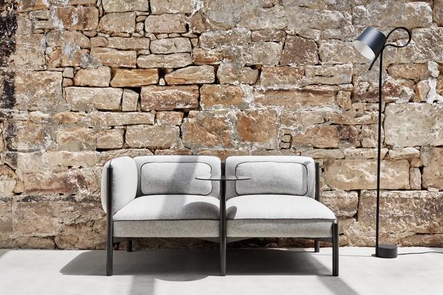 Adam Cornish's Converse modular sofa.