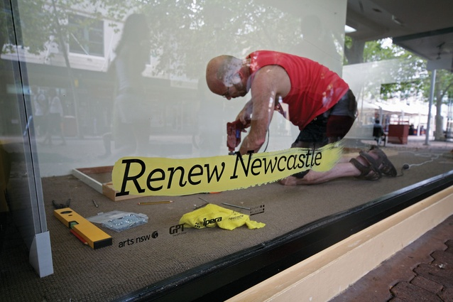 Renew Newcastle is a not-for-profit company that finds short- to medium-term leases for vacant buildings in Newcastle's CBD.