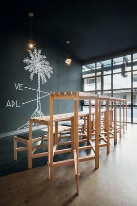 Winner of Best Cafe Design – Abbots & Kinney by Studio-Gram