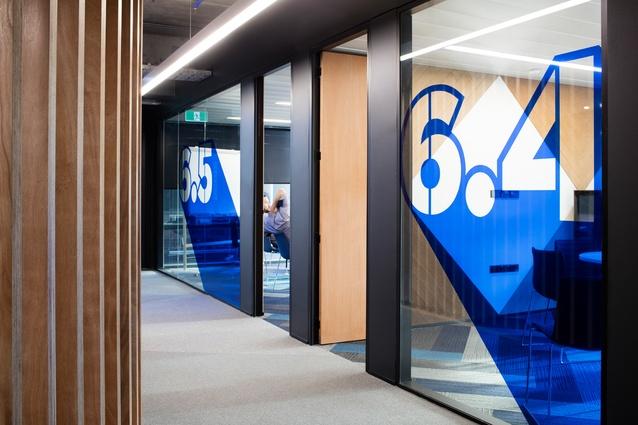 TVNZ Television Network Centre Refurbishment by Warren and Mahoney Architects Australia.