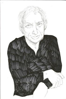 A sketch of Ivan Mercep by his daughter Nina Mercep.
