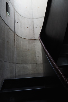 A stairwell in the Walmer Yard townhouses by Peter Salter.
