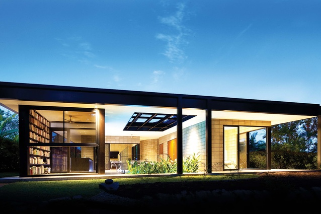 Glass House Architecture Style House Style
