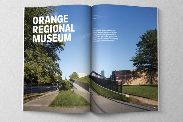 Orange Regional Museum designed by Crone Architects.