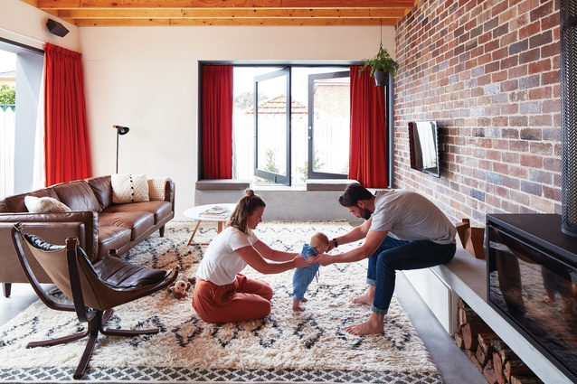 """The brief called for a home that was """"flexible, robust and light,"""" suitable for a growing young family as well as for entertaining."""