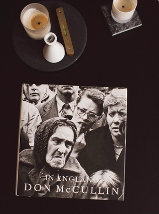 Signed copy of Don McCullin's <em>In England</em>: A brilliant photographer, Don is the classic photojournalist, most known for his work as a war correspondent from the 1950s until the present.