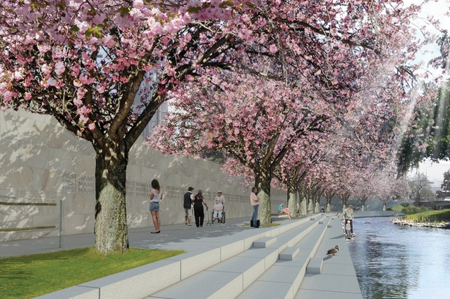 In May 2015, Minister for Canterbury Earthquake Recovery, Hon Gerry Brownlee announced The Memorial Wall, designed by Slovenian architect Grega Vezjak, as the selected design for the Canterbury Earthquake Memorial.