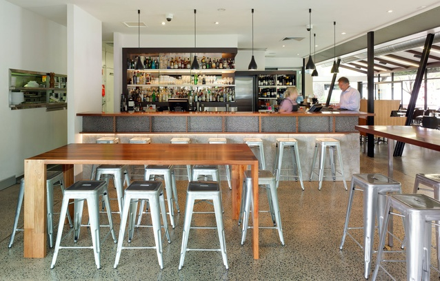 Harveys Bistro by Riddel Architecture.