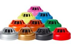 Custom-colour fire detectors