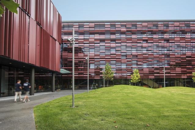 Education winner: AUT Manu Hauora (MH) Building, Manukau by Jasmax.