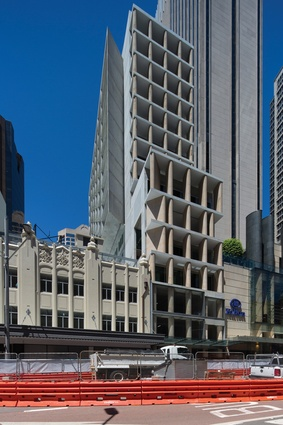 AHL Headquarters sits alongside the State Theatre, the Hilton Sydney and QT Sydney, and is directly opposite the 1898 Queen Victoria Building.