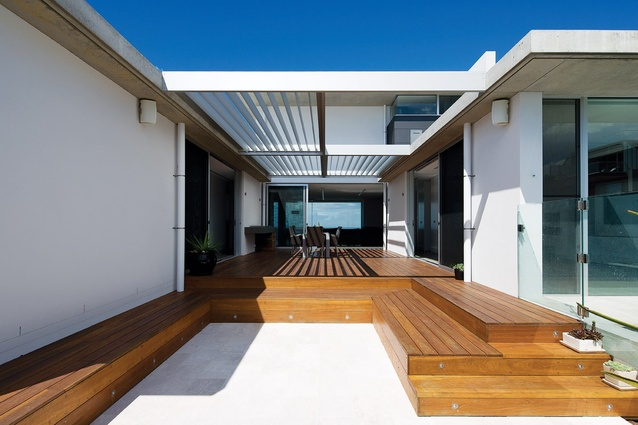 merewether residence project credits architectureau