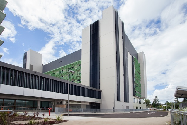 Rockhampton Hospital - New Ward Block by Jacobs and Hassell.