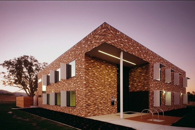 Commercial joint winner: La Trobe University, Wodonga, by Billard Leece Partnership.