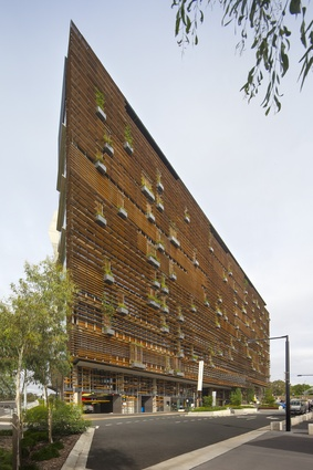 NewActon Nishi Commercial (ACT) by Fender Katsalidis Architects.