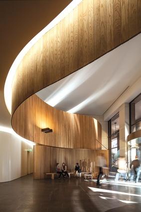 Woods bagot studio sydney architectureau How many hours do interior designers work