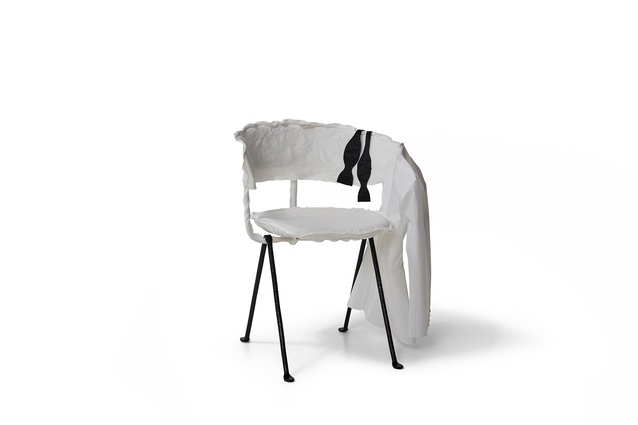 The Officina chair reinvented by Arent and Pyke for Chairity Project 2016.