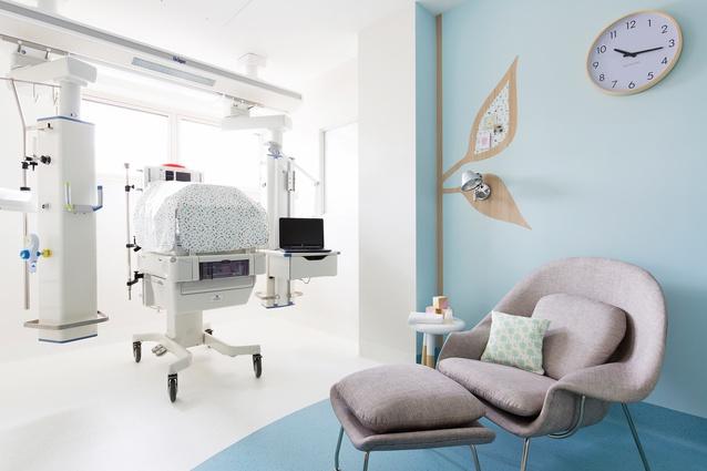 Mater Hospital Poche Van Norton Special Care Nursery by Alexandra Kidd Design.
