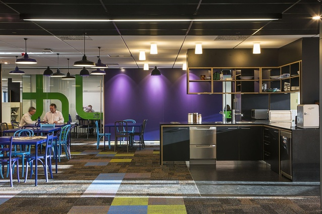 Commercial Interior Office Award winner - Beca Fitout by Studio Pacific Architecture.