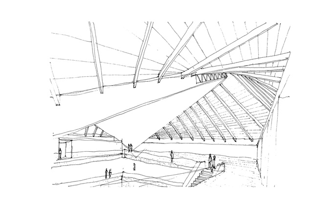 Sketches by architect John Pawson.