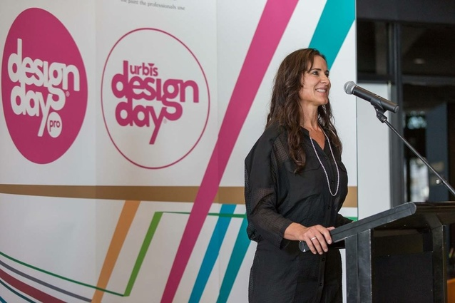 Jo Duggan speaking at Urbis Designday 2015.