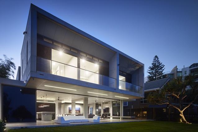 2A Concrete by Shane Denman Architects.