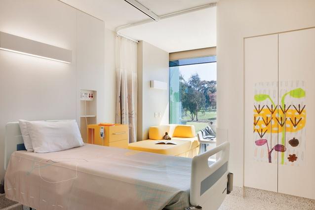 The Royal Children's Hospital designed by Billard Leece Partnership and Bates Smart.
