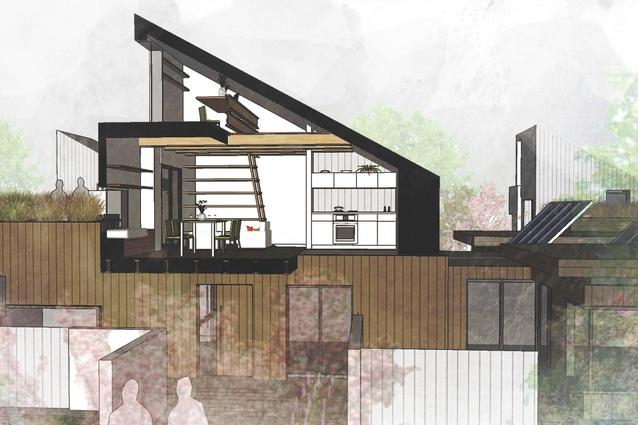 First Prize Hi House By Melinda Dodson