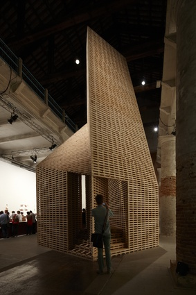 <em>Vessel</em> by O'Donnell + Tuomey Architects for the Common Ground exhibition at the 2012 Venice Architecture Biennale.