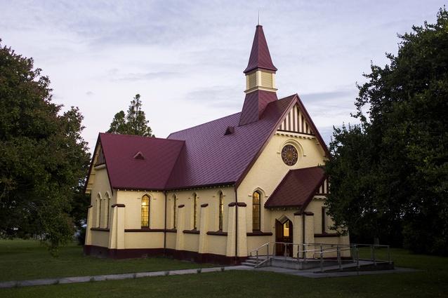 Heritage category finalist: Toko Toru Tapu Church, Manutuke, Gisborne by Architects 44.
