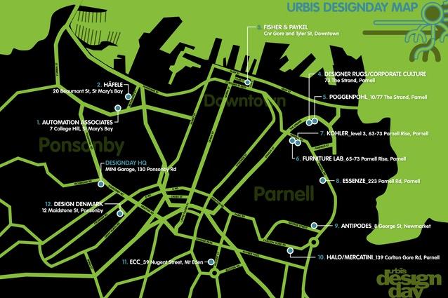 Urbis Designday® Map