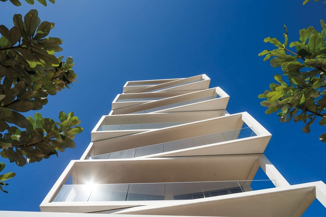 The Aria by MHN Design Union. Winner of the Popular Choice award for Multi Unit Housing - Mid Rise (5-15 Floors).