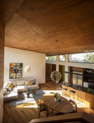 Housing Award: Tawini House, Titirangi by Megan Edwards Architects.