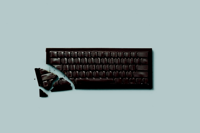 The chocolate keyboard.