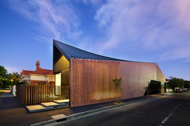 Residential winner: Harold Street Residence by Jackson Clements Burrows Architects.