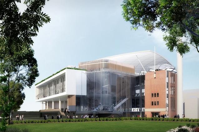 Cox Architecture Lead Architect For New Scg Stand