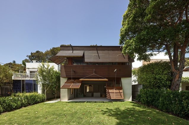 Pittwater House by Andrew Burges Architects.