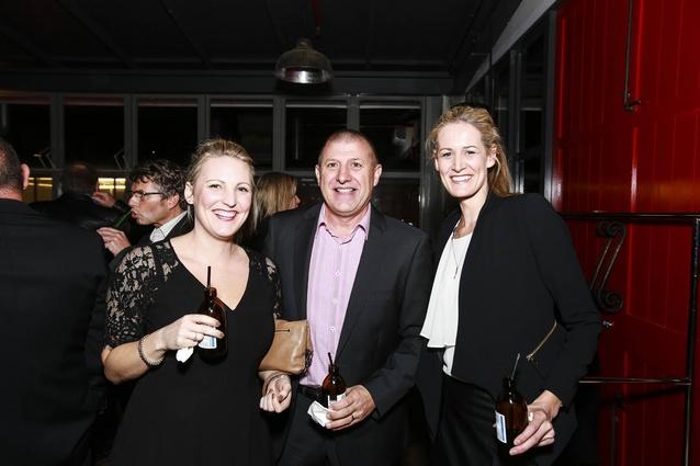 L to R:  Lizzie Atkin, Dean Davis, Kirsten Robertson