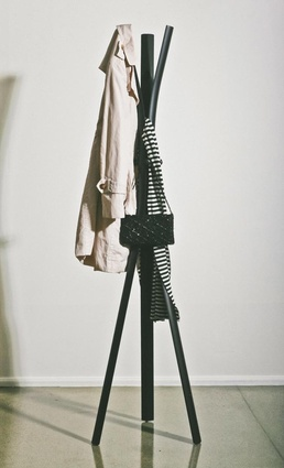 The Peel coat stand, available at Simon