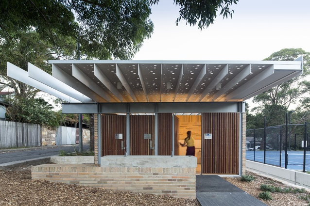 Cohen Park by Welsh and Major Architects.