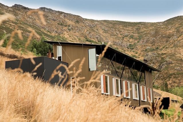 Lyttelton Studio Retreat, designed by Michael O'Sullivan.