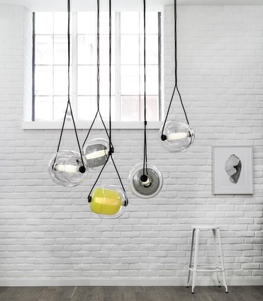 Capsula pendant from Brokis.