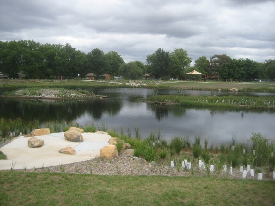 North Canberra Urban Waterways Initiative by Enviro Links Design.
