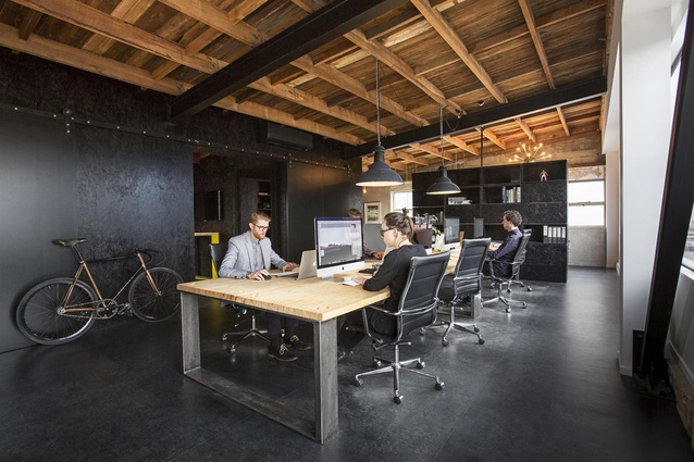 2016 winner of the Workplace up to 1,000sqm category: 190 St Asaph Street by AW Architects.