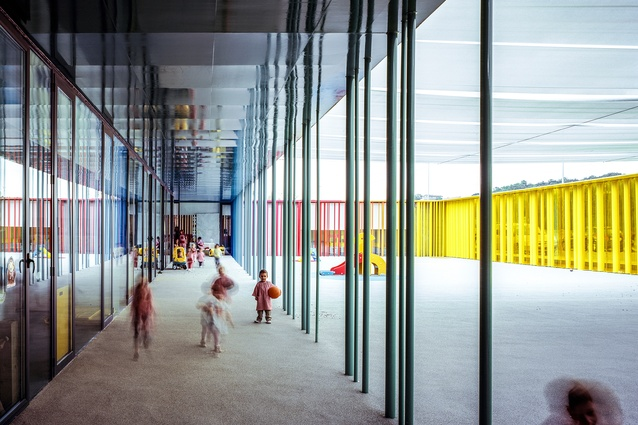 El Petit Comte Kindergarten in Besalú, Spain by RCR Arquitectes in collaboration with J. Puigcorbé (2010).