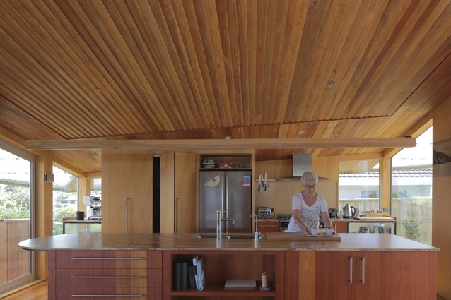 Housing winner: Andrews Family Home, Taupō by Bull O'Sullivan Architecture.