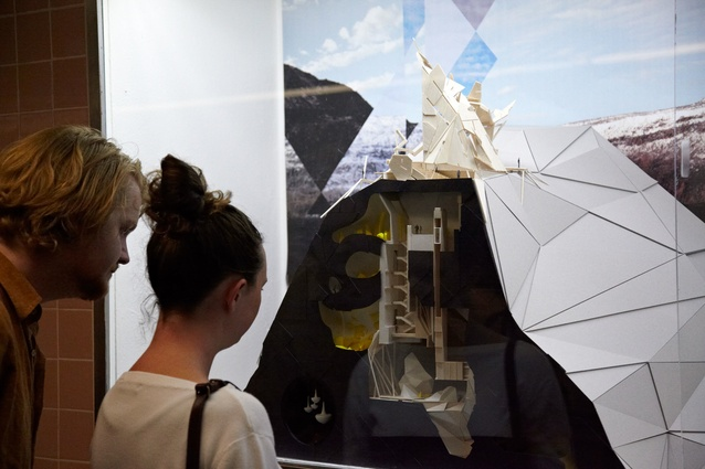 <em>Ghost Town</em> exhibition in Degraves Street Subway.